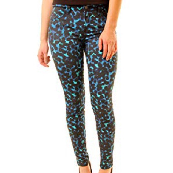 J Brand Denim - NWT J Brand indigo ink blot mid rise skinny jeans